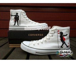 fashion shoes, joker, and converse shoes image