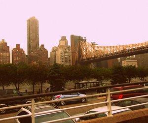 bridge, city, and new york city image