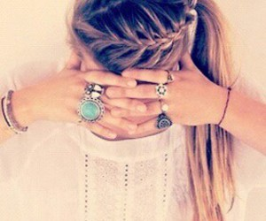 accessoires, hair, and pretty image