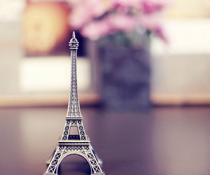 bedroom, detail, and eiffel tower image