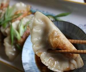dumplings, food, and foodporn image