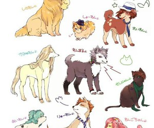 dogs, starish, and ichinose tokiya image