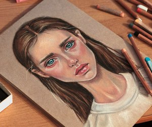 anorexic, draw, and picture image
