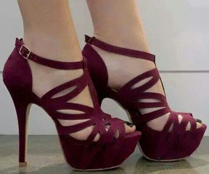 fashion, legs, and maroon image