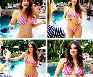 actress, beautiful, and bikini image