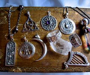 jewelry, necklace, and crystal image