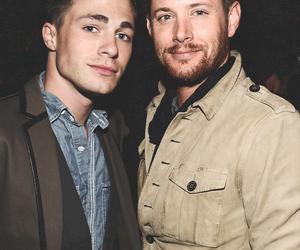 Jensen Ackles, supernatural, and colton haynes image