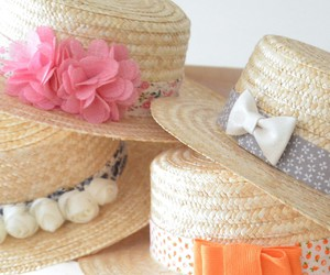 accessories, canotier, and complementos image