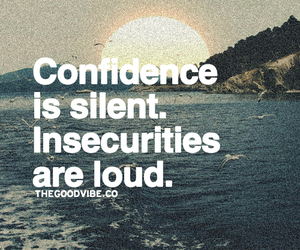 confidence, quotes, and silent image
