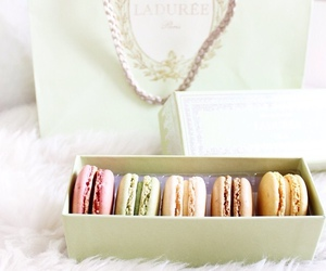 macaroons, food, and luxury image