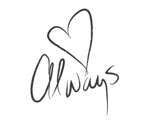 always, love, and heart image