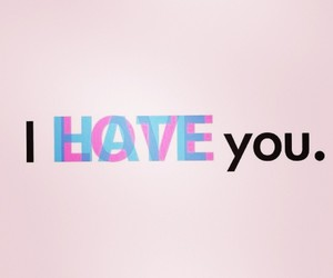 love, hate, and pink image