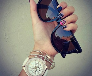 fashion, sunglass, and summer image