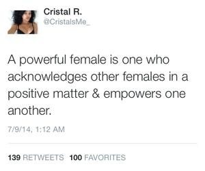 girl and Powerful image
