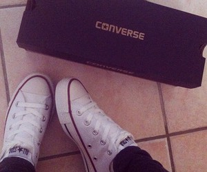 basket, converse, and look image