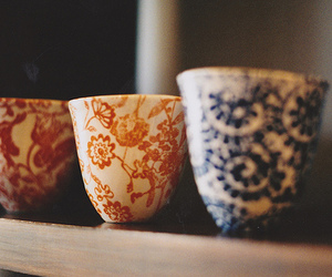 cup, vintage, and photography image