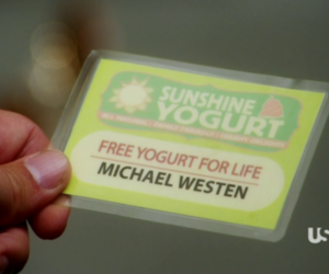 burn notice, michael westen, and free yogurt image