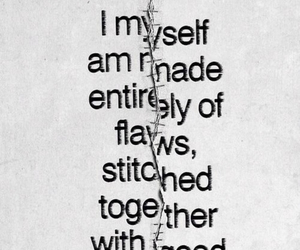 flaws, quotes, and myself image