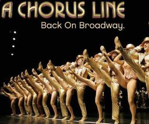 broadway, chorus line, and musicals image