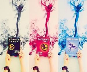 book, hunger games, and suzanne collins image