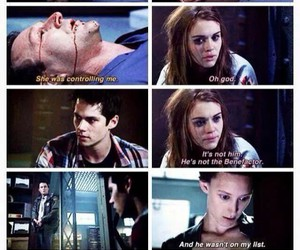 teen wolf, stiles, and lydia martin image
