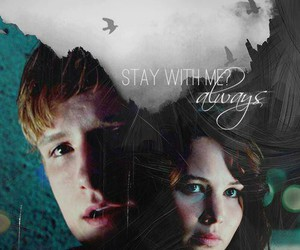 always, the hunger games, and katniss image