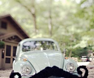 car, mustache, and moustache image