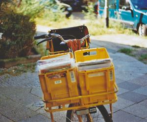 vintage, bike, and grunge image