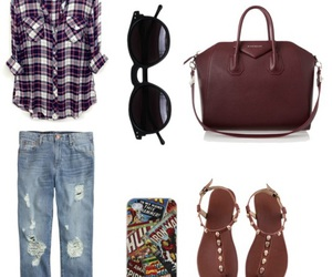 bag, jeans, and look image