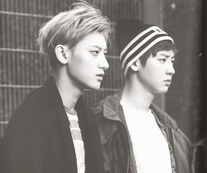 exo, chanyeol, and tao image