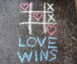 love, win, and cross image
