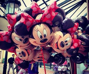 cute and balloons image