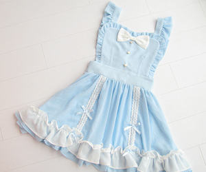 falbala maid lolita dress image