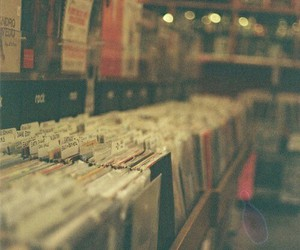 music, vintage, and cd image