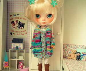 blythe, chibi, and doll image