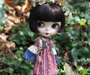 blythe, custom, and doll image