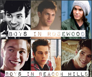 boy, pretty little liars, and teen wolf image