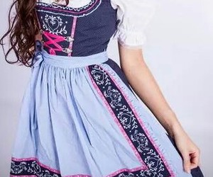 blau, dirndl, and mini image