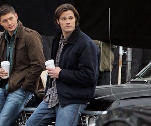 impala, Jensen Ackles, and supernatural image