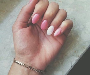 fashion, pink, and manicure image