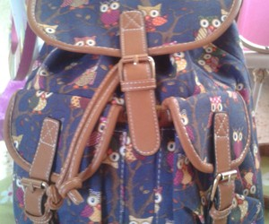 backpack, bag, and chic image