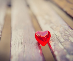 alone, heart, and love image