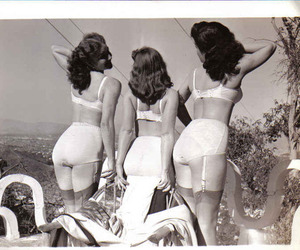 vintage and lingerie image