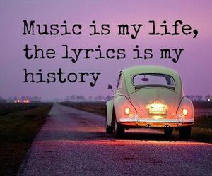 music, life, and car image