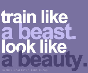 train, beauty, and motivation image