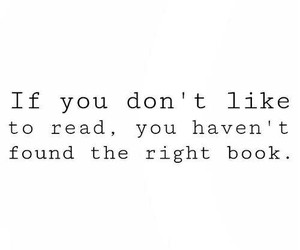 book, quote, and read image