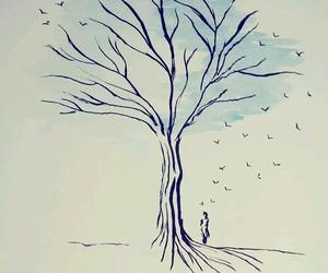arbol, aves, and portada image