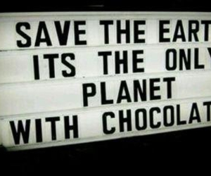 chocolate, earth, and save image