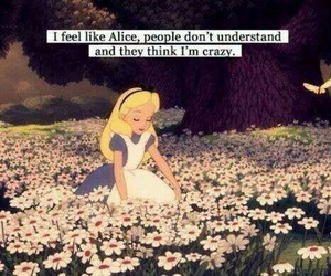 alice, sadness, and understand image