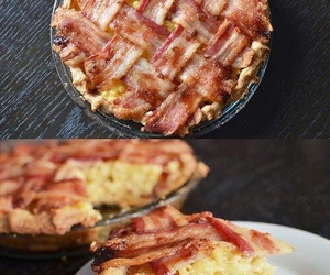 bacon, pie, and mac and cheese image